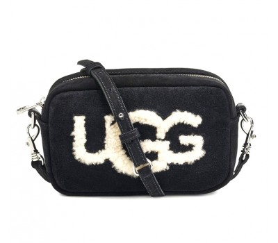 Сумка UGG Australia Janey Sheepskin Crossbody Рыжая