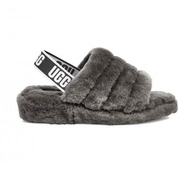 UGG Fluff Yeah Slide - Charcoal