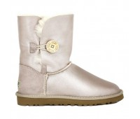 UGG Bailey Button Gold Rose