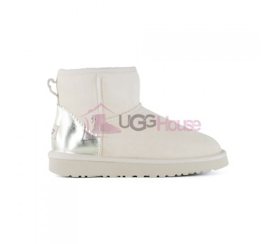UGG Women's Classic Mini II Metallic Driftwood непромокаемые