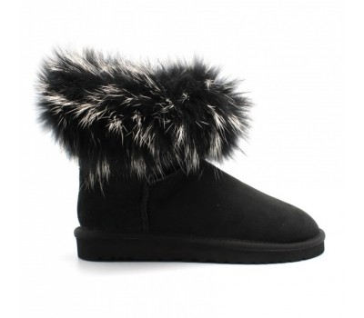 UGG Australia Fur Fox Black
