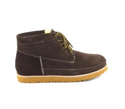UGG Mens Bethany Chocolate II Мужские ботинки угги на шнурках шоколад