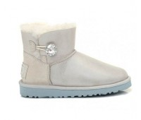 UGG Australia Bailey Button Mini I DO Угги мини с кристалом Swarovski ® Crystal