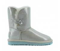 UGG Australia Bailey Button I DO Угги с кристалом Swarovski ® Crystal