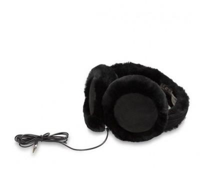 Наушники UGG с динамиком черные   Купить наушники UGG интеренет-магазин ugghouse.shop
