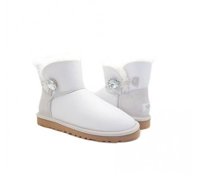 UGG Bailey Bling Mini White Metallic