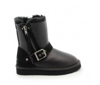 UGG Kids Blaise Metallic Black