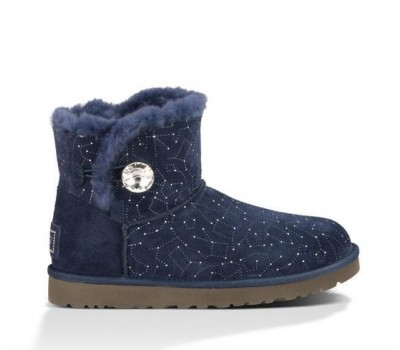 UGG Mini Bailey Button Bling Constellation Navy