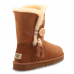 UGG Bailey Button Charms Chestnut