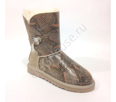 Ugg Women Bailey Bling Snake - Sand