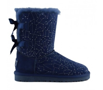 UGG Bailey Bow Constellation Navy