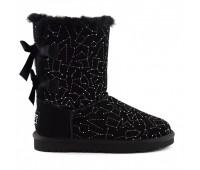 UGG Bailey Bow Constellation Black