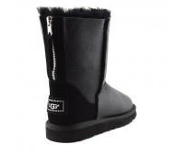 UGG Australia Short Zip Metallic Black
