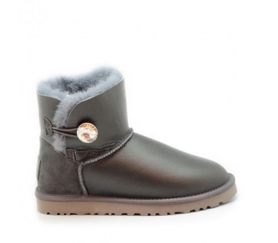 UGG Bailey Bling Mini Grey Metallic