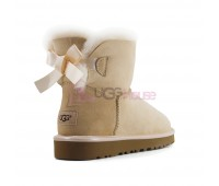 UGG Bailey Bow Mini II Metallic Driftwood