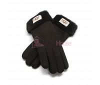 Женские перчатки UGG Chocolate - 1041