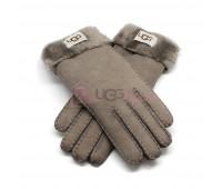 Женские перчатки UGG Light Grey - 1036