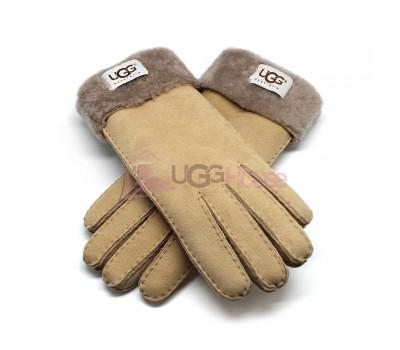 Женские перчатки UGG Sand-grey - 1037