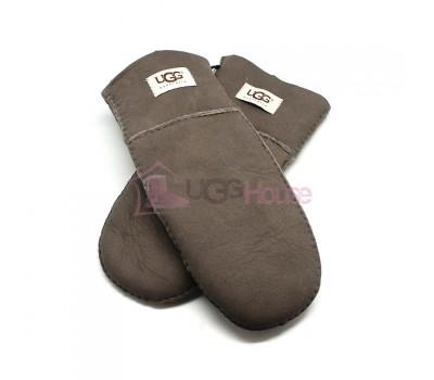 Женские варежки UGG Suede Light Chocolate - 1023