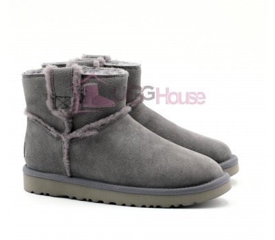 UGG Mini Spill Seam Boot Grey