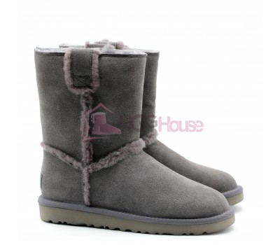 UGG Short Spill Seam Boot Grey