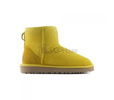 UGG Australia Classic Mini II Yellow Желтые