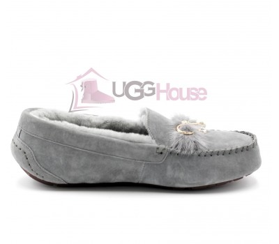 Женские Мокасины UGG Dakota Peare - Grey