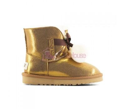 Угги Детские UGG Gita Metallic - Gold