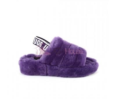 UGG Fluff Yeah Slide - Violet Bloom фиолетовые