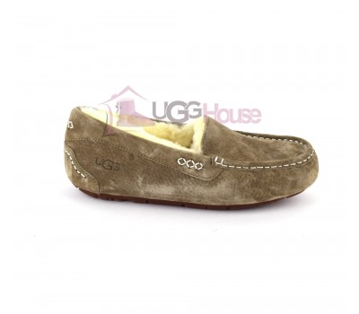 UGG Moccasins Women Ansley Green Olive Оливковые
