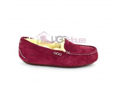UGG Moccasins Women Ansley Red Wine