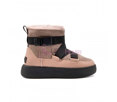 UGG Classic Boom Buckle Boot Pink Crystal Snowball
