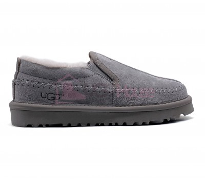 UGG Stitch Slip On Grey серые