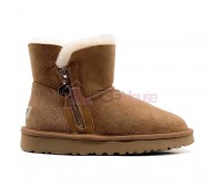 UGG Mini Zipper Chestnut