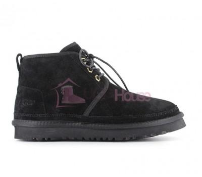 Ботинки UGG Neumel Черные женские на шнурках