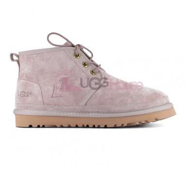 Ботинки UGG Neumel Розовые женские на шнурках