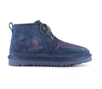 Ботинки UGG Neumel Синие женские на шнурках