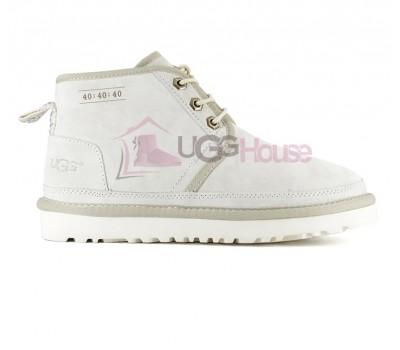 Ботинки UGG Neumel 40:40:40 Светло - Бежевые женские на шнурках