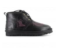 Ботинки UGG Neumel Черные Кожаные