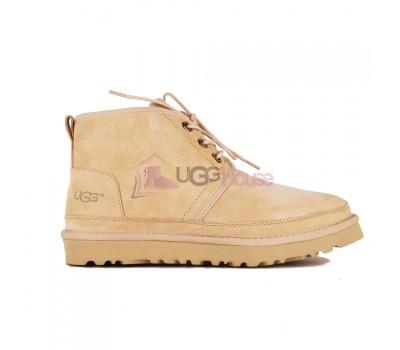 Ботинки UGG Neumel Рыжие женские на шнурках
