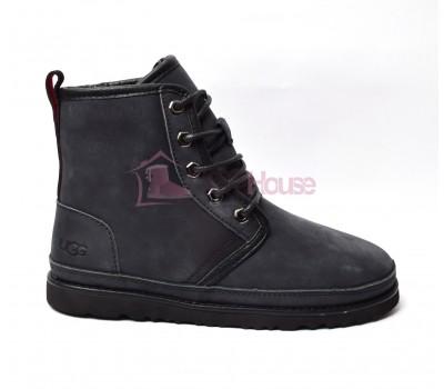Мужские ботинки UGG Men's Harkley Waterproof Boot Black