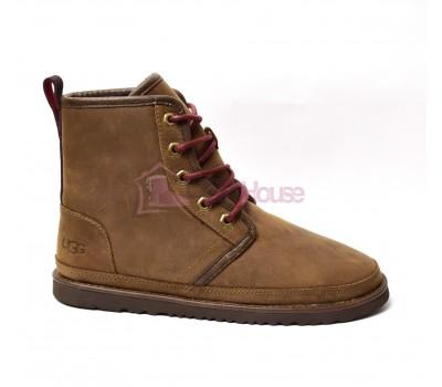 Мужские ботинки UGG Men's Harkley Waterproof Boot Grizzly