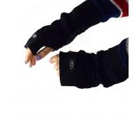 Перчатки-митенки UGG Knit Mitten Black