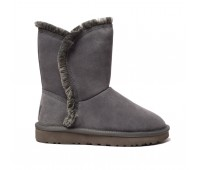 UGG Womens Classic Fluff High Low - Grey