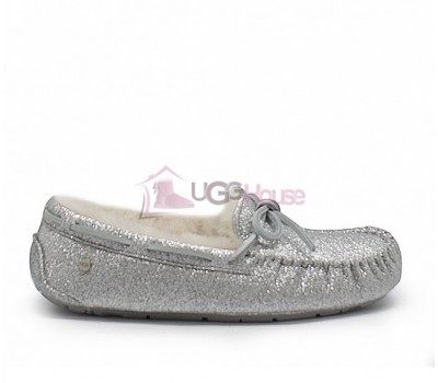 Мокасины UGG Womens Dakota Sparkles Grey