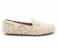 UGG Womens Hailey Fluff Loafer Biege