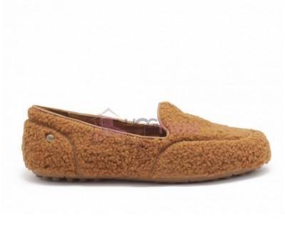 Мокасины UGG Womens Hailey Fluff Loafer Chestnut
