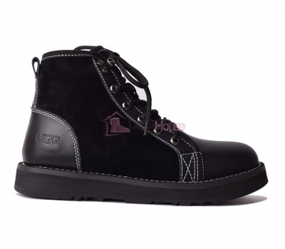 UGG Womens Navajo Black Ботинки угги на шнурках