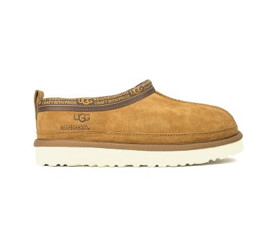 Низкие слиперы UGG X NEIGHBORHOOD TASMAN - Chestnut