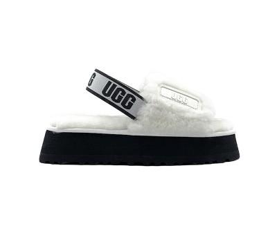 UGG Disco Slide Sandal - White